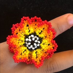 Multiple Color Hand Crafted Ring